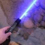 充電式青レーザーポインター 高出力 充電式