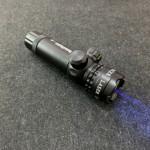 紫色レーザー照準