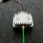 緑色レーザーモジュール