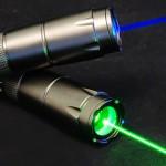 青色緑色高出力レーザーポインター