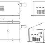 DPSSレーザー 532nm 1000mW