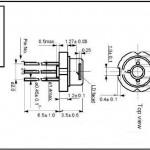 250mW青紫レーザーSLD3235VF